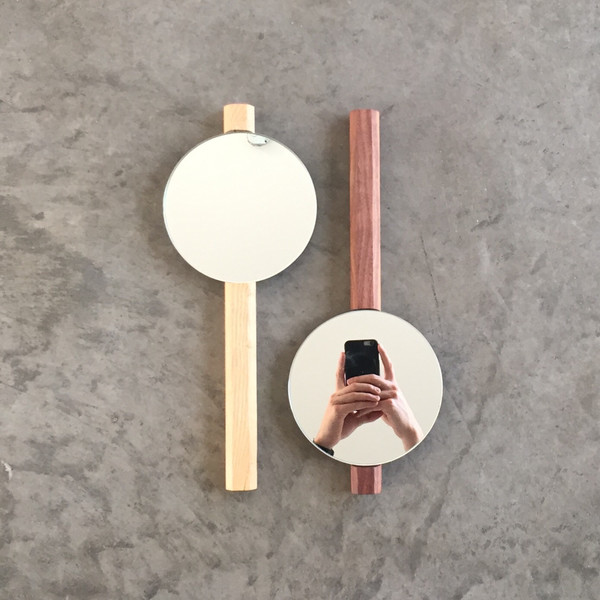 Lonewa Hex Hand Mirror