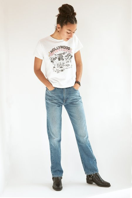 RE/DONE 70s Straight Jean - Medium Wash