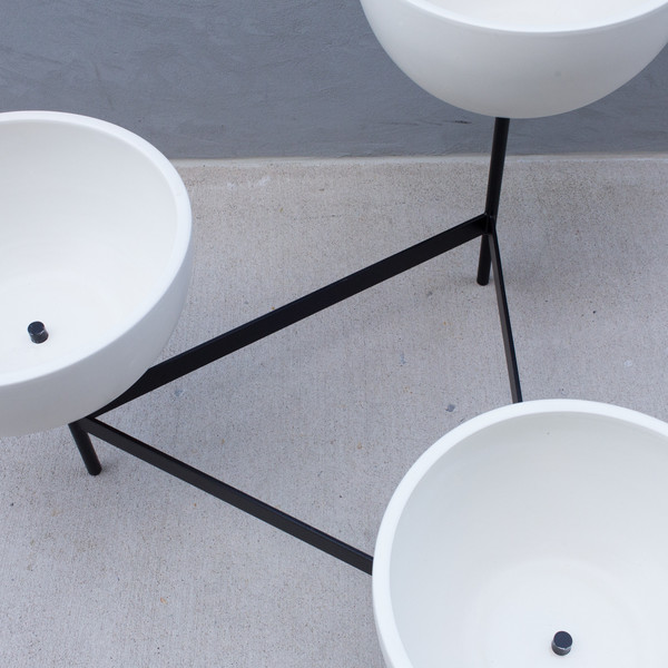 Modernica Metal Tri Stand Planter, Medium