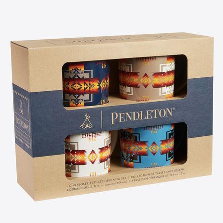 Pendleton Set of 4 Coffee Mug - Chief Joseph