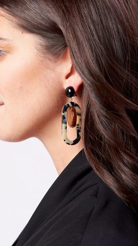 Rachel Comey Lohr Earring - Dalmatian