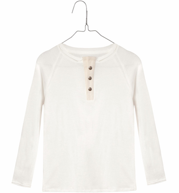 Little Creative Factory Long Sleeve Top Off-White