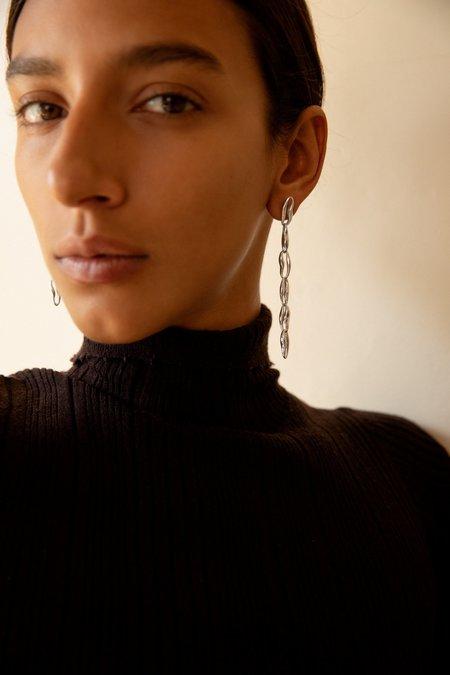 Leigh Miller Chain Earrings - Sterling Silver