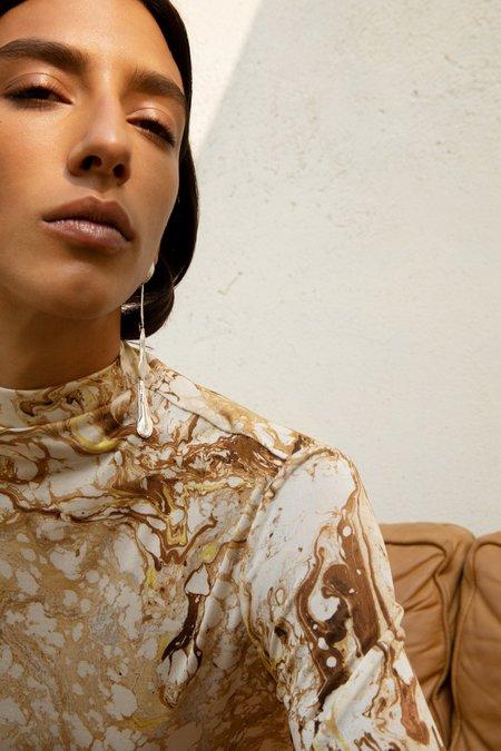Leigh Miller Long Driplette Earrings - Sterling Silver
