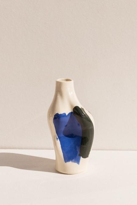 Abs Objects Shiny Torso vase - Ocean