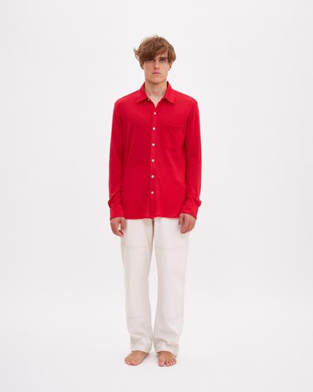 Bellariva Cashmere Shirt - Red