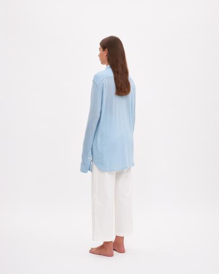 Bellariva Cashmere Shirt - Light blue