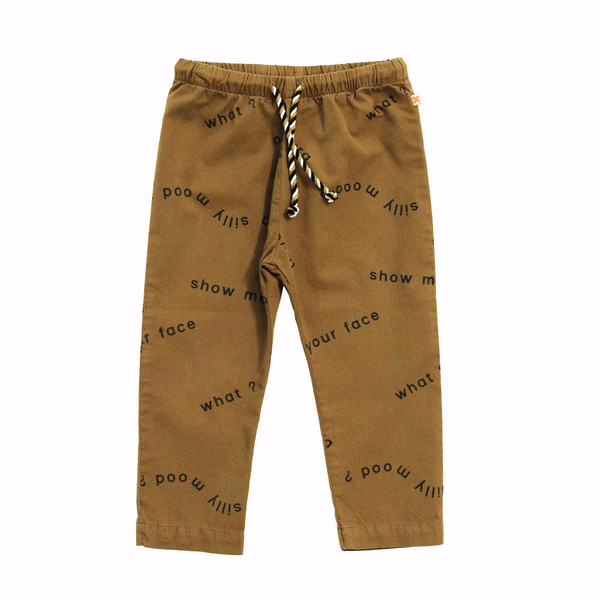 Tiny Cottons Many Words Woven Pant