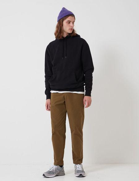 Bhode Oversized Pocket Hoodie Organic Cotton sweater - Black