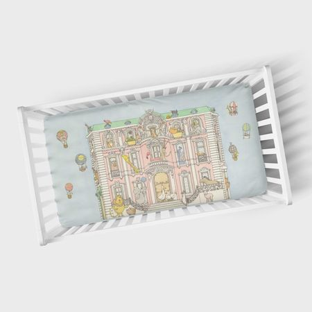 Kids Atelier Choux Fitted Sheet - Monceau Mansion