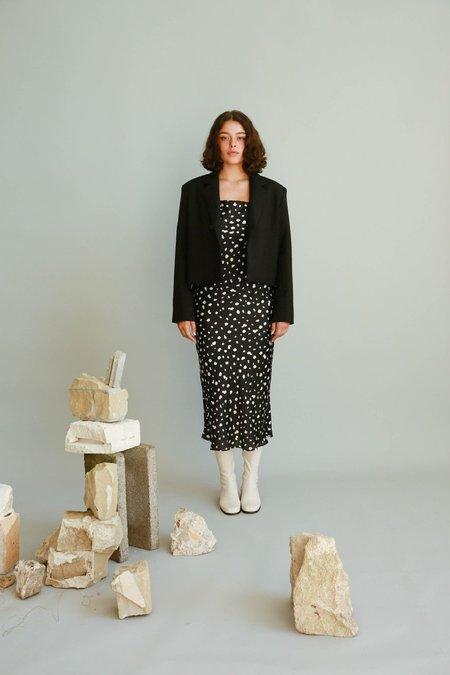 JOWA. Repeller Slip Dress - Leopard