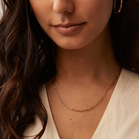Able Essential Chain Necklace - 14k gold