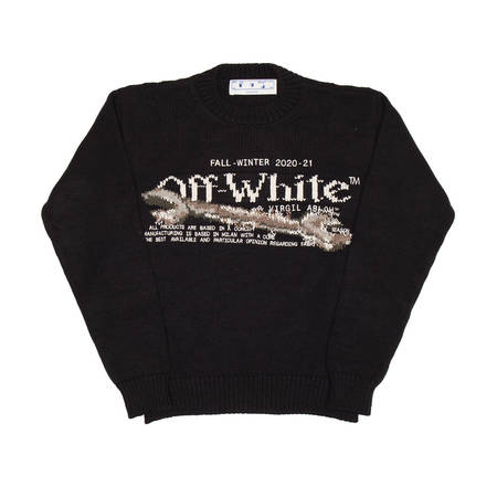 OFF-WHITE Pascal Tool sweater - black