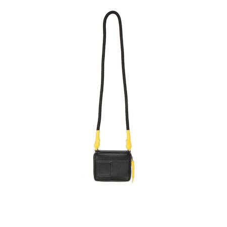 RICK OWENS DRKSHDW Small cord purse - black