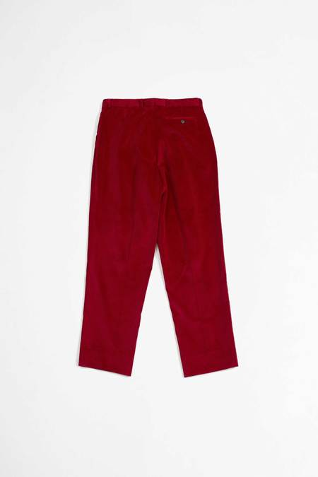 EDITIONS M.R. Nathan crop trousers - red