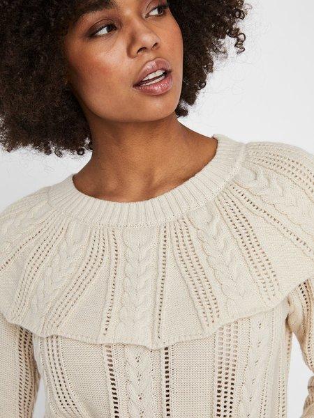 VERO MODA Large Collar Knit