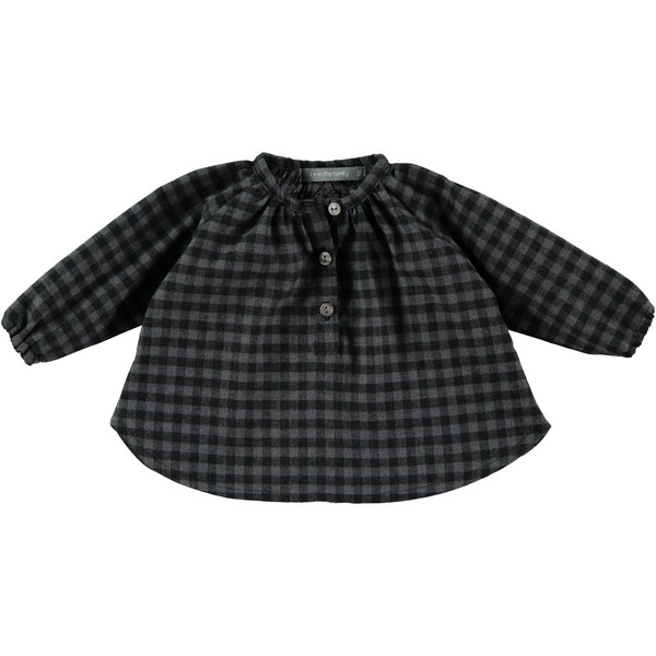 1+ in the Family Thais Check Blouse