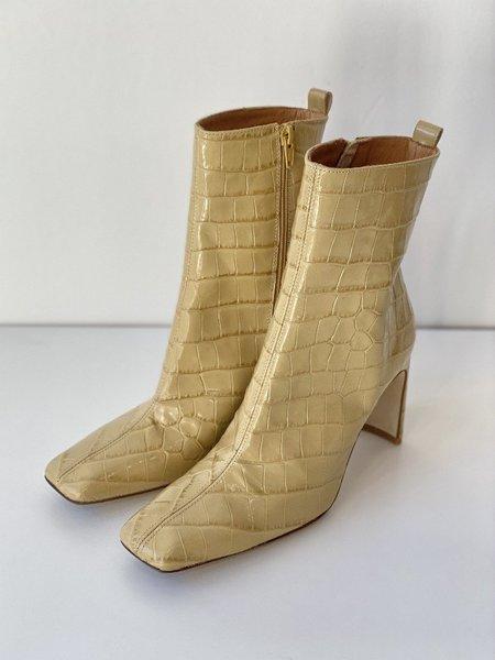 Miista Marcelle Boot - Oak Croc Leather