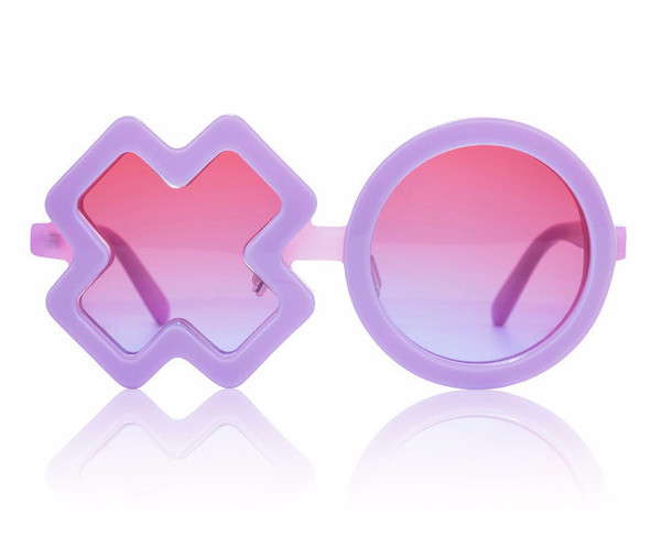 Sons + Daughters XO Sunglasses Lilac Pearl