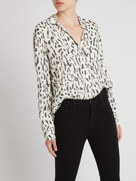 Rails Rocsi Shirt -  Ivory Cheetah