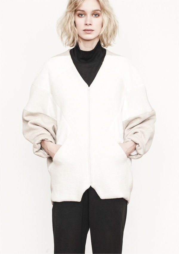 Berenik DIAMOND PATCHWORK JUMPER JACKET