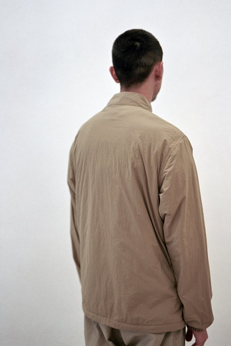 Gramicci Nylon-Fleece Coaches Shirts - Chino