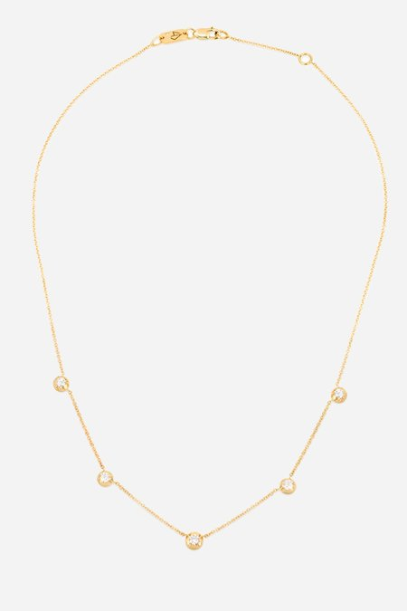 Carbon & Hyde Rose Necklace