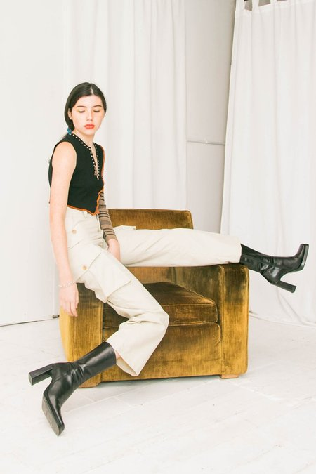 Maryam Nassir Zadeh I Summit Trousers - Cassis