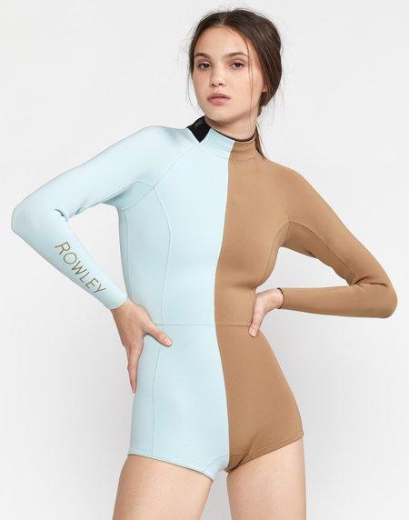 Cynthia Rowley Logan Long Sleeve Wetsuit - Sky Blue