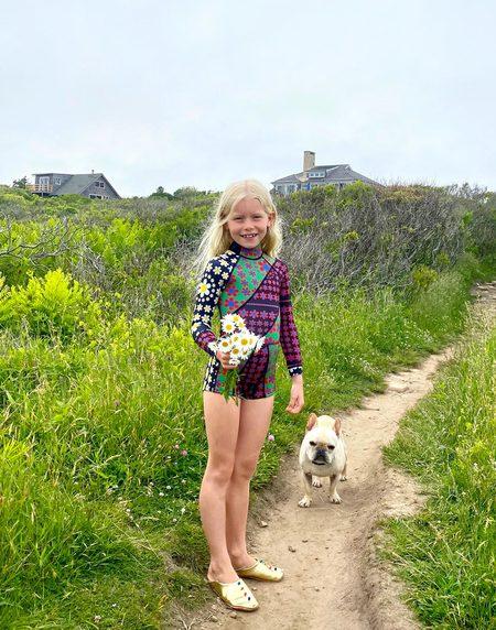 Kids Cynthia Rowley Mia Wetsuit - Daisy Patchwork