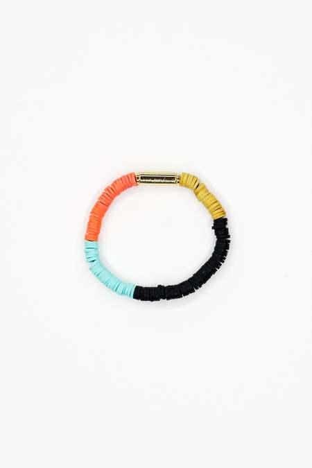 JULIE THÉVENOT Skinny Isiand bracelet - Multi