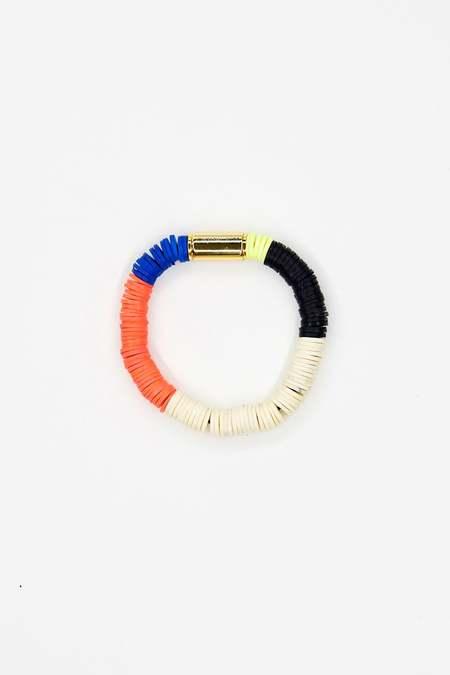 JULIE THÉVENOT Chunky Isiand bracelet - Multi