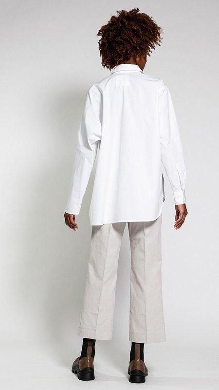Sofie D'hoore Balla Asymmetric Button-Down Shirt - White