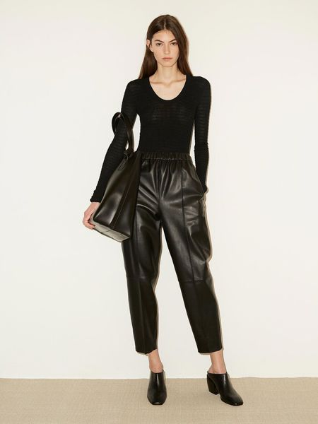 By Malene Birger Arecia Leather Pant