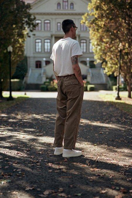 Engineered Garments 8W Corduroy Fatigue Pant - Khaki