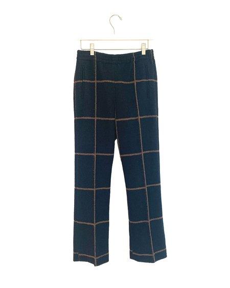No.6 Quinlan Pants - Midnight/Camel
