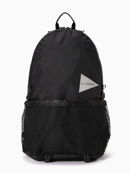 and wander X-Pac 20L Backpack - Black