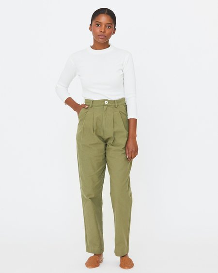 [Pre-loved] Esby Emma Trouser - Moss