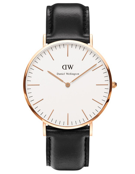 Daniel Wellington Sheffield Watch Rose Gold 40mm