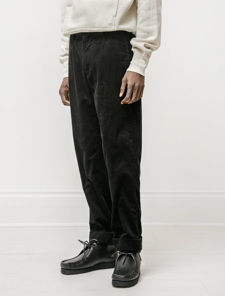 Engineered Garments Andover Pant in Cotton 8W Corduroy - Black