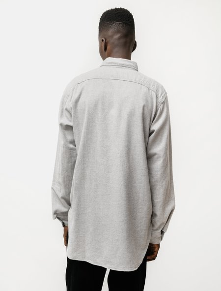 Engineered Garments Work Shirt Brushed Cotton Twill - Light Grey