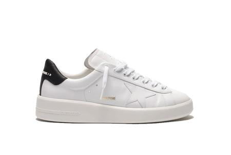 Golden Goose Pure Star Leather Upper Sneakers