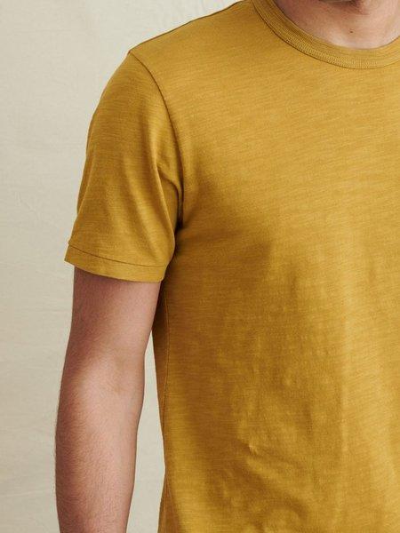 Alex Mill Standard Slub Cotton T-Shirt - Yellow Khaki