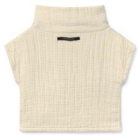 Kids Little Creative Factory Tanka Crop Jersey Vest - Cream