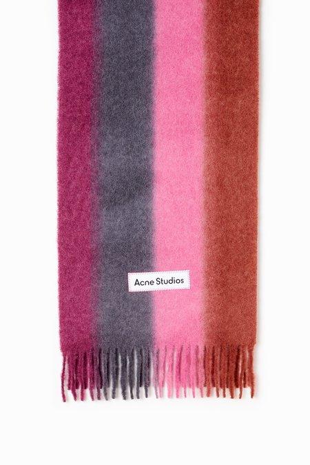 acne studios Vanessa Scarf - Purple/Pink