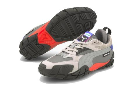 Puma x Attempt Centaur Sneaker - Blue/Red Silver