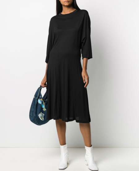 Henrik Vibskov Towel Jersey Dress - Black