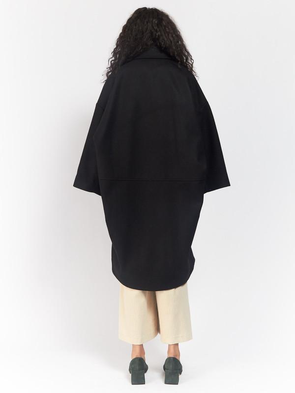 Unisex Henrik Vibskov Last Coat Black