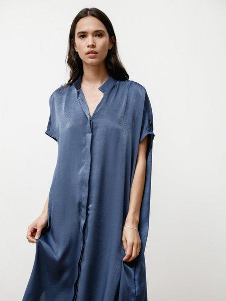 Priory Placket II Dress - Slinky Denim Blue