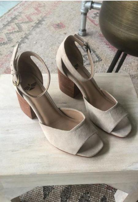 Fortress of Inca Mila Suede Strappy Shoes - Smokey Gray